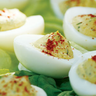 How to Make Deviled Eggs Healthier