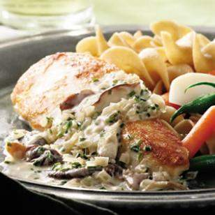 Watch: Healthy Cream of Mushroom Chicken Recipe
