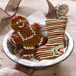Iced Gingerbread Cut-Out Cookies Recipe