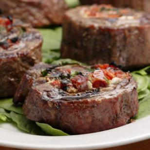 Flank Steak Pinwheels Recipe