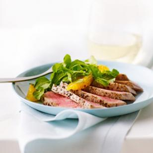 Orange, Watercress & Tuna Salad Recipe