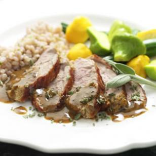 Mustard-Maple Pork Tenderloin Recipe
