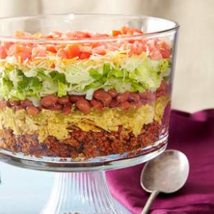 8-Layer Taco Salad Recipe