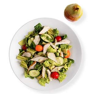 Green Goddess Salad with Chicken  Recipe