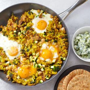 Chickpea & Potato Hash Recipe