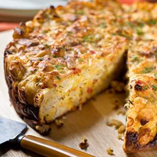 Savory Cauliflower Cake Recipe