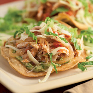 Crispy Turkey Tostada